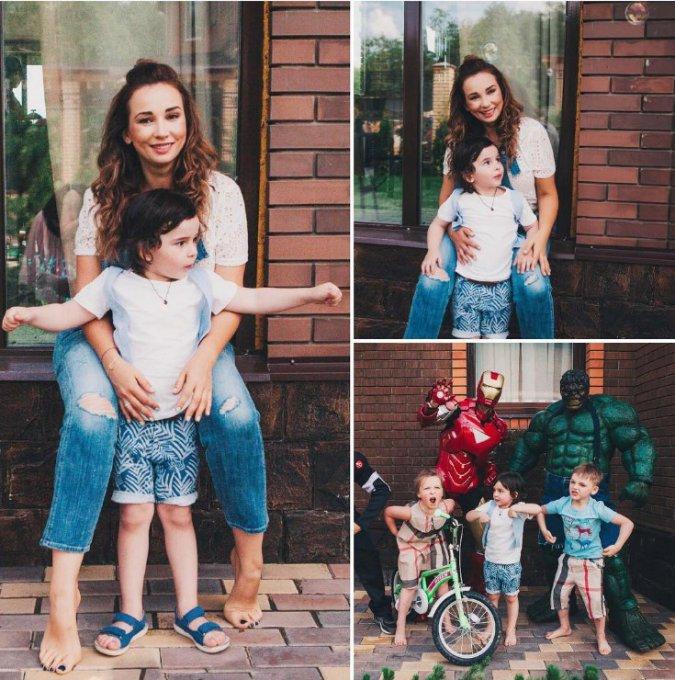 Анфиса Чехова показала четырехлетнего сына