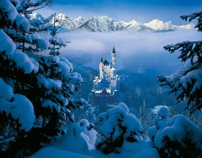 Старинные замки, захватывающие дух своим великолепием. Фото