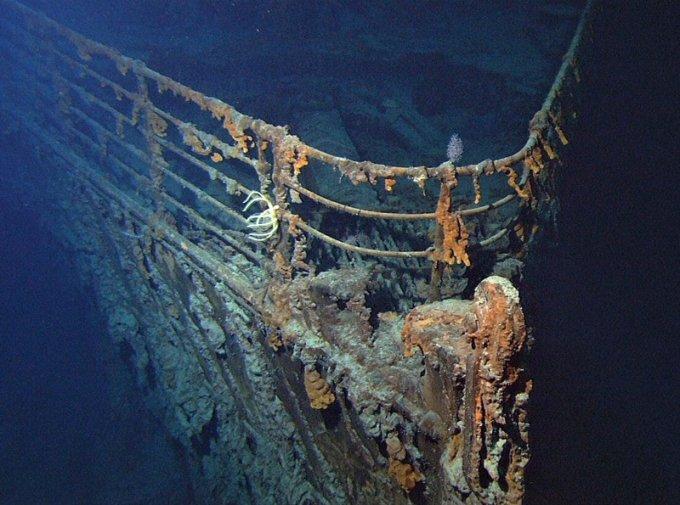 Удивительные факты из истории гибели «Титаника». Фото