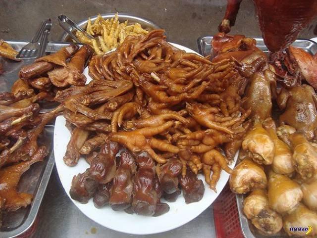 Шокирующая еда из разных стран мира. Фото