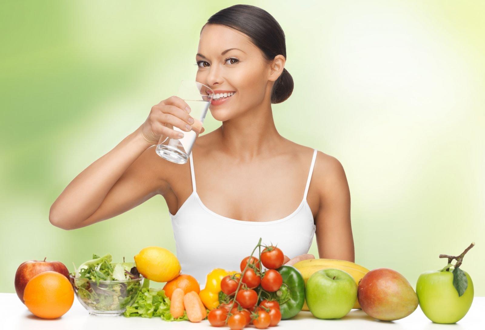 Диета как правильно пить воду