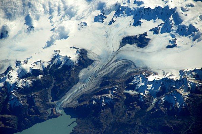 Свежие кадры захватывающего вида Земли из космоса. Фото