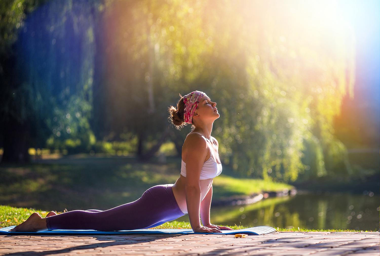 фотосессия в стиле йоги правильно