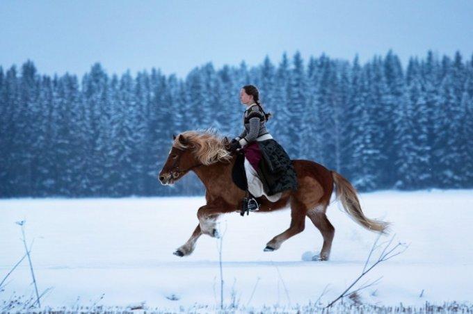 Самобытная жизнь отважной девушки в Заполярье. Фото