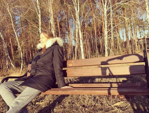 Катя Осадчая осчастливила своих поклонников секретными фотографиями