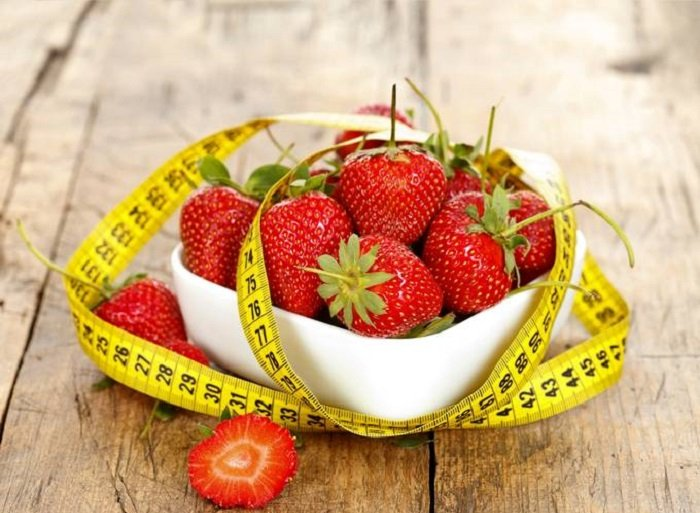 экспресс диета минус 5 кг клубники