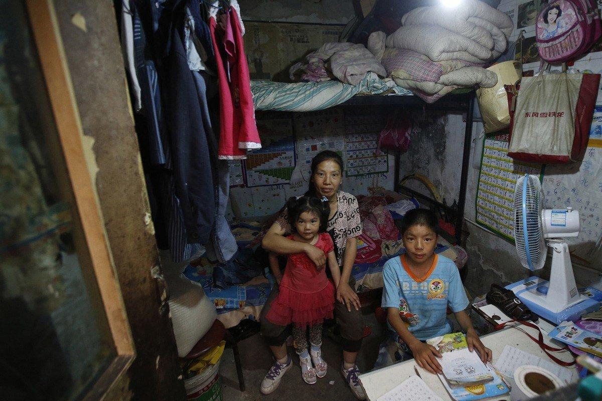 фото бедных китайцев ручкой окнами