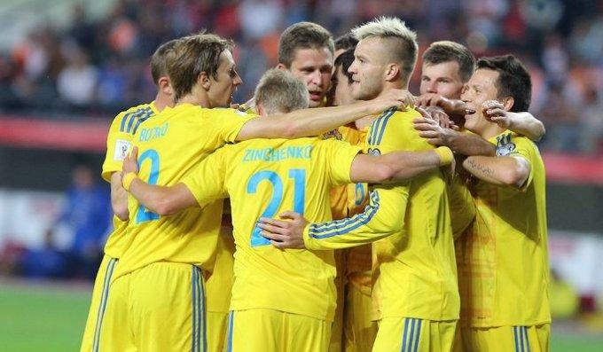 Украина в отборе на чемпионат мира обыграла Финляндию