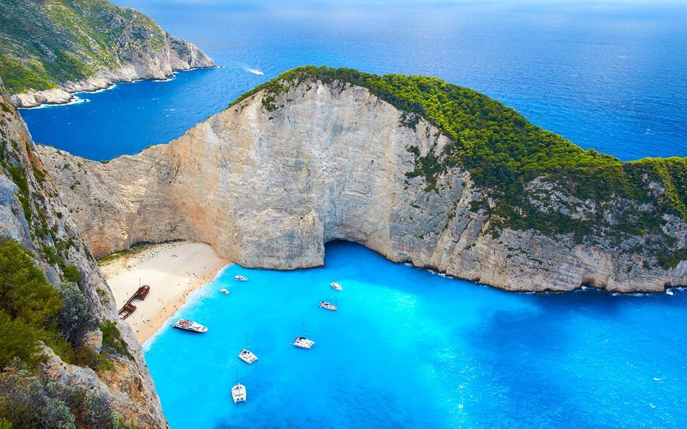 Закинф - самый красивый остров Греции!
