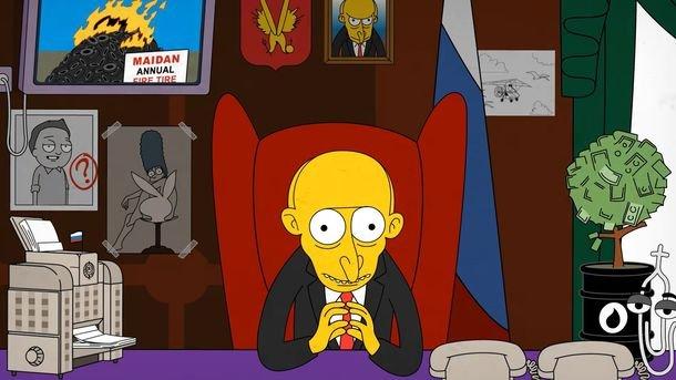 «Еще шесть лет Путина»: YouTube взорвала пародия в стиле «Симпсонов»