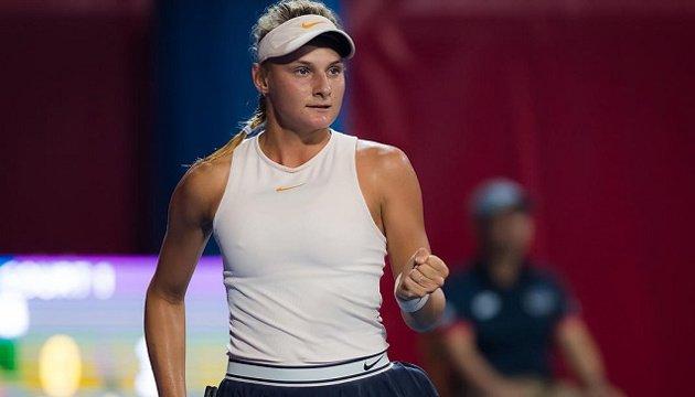 Українська тенісистка успішно вийшла до півфіналу турніру WTA