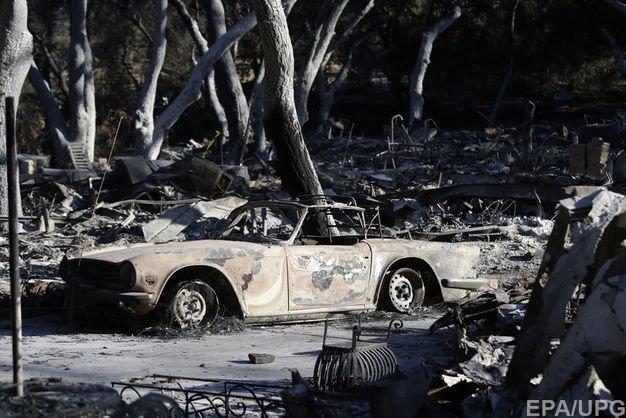 Каліфорнія в вогні: 71 людина загинула