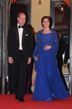 Кейт Міддлтон вдягла стару сукню на прийом у Букінгемському палаці. Фото