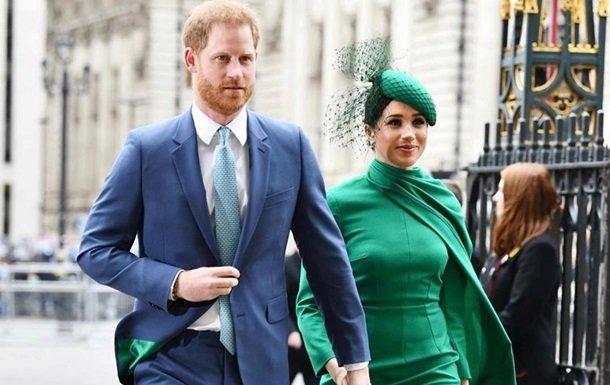 Принц Гаррі та Меган Маркл попрощались з підданими